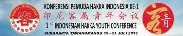 Cover Konferensi Pemuda Hakka Indonesia ke-1